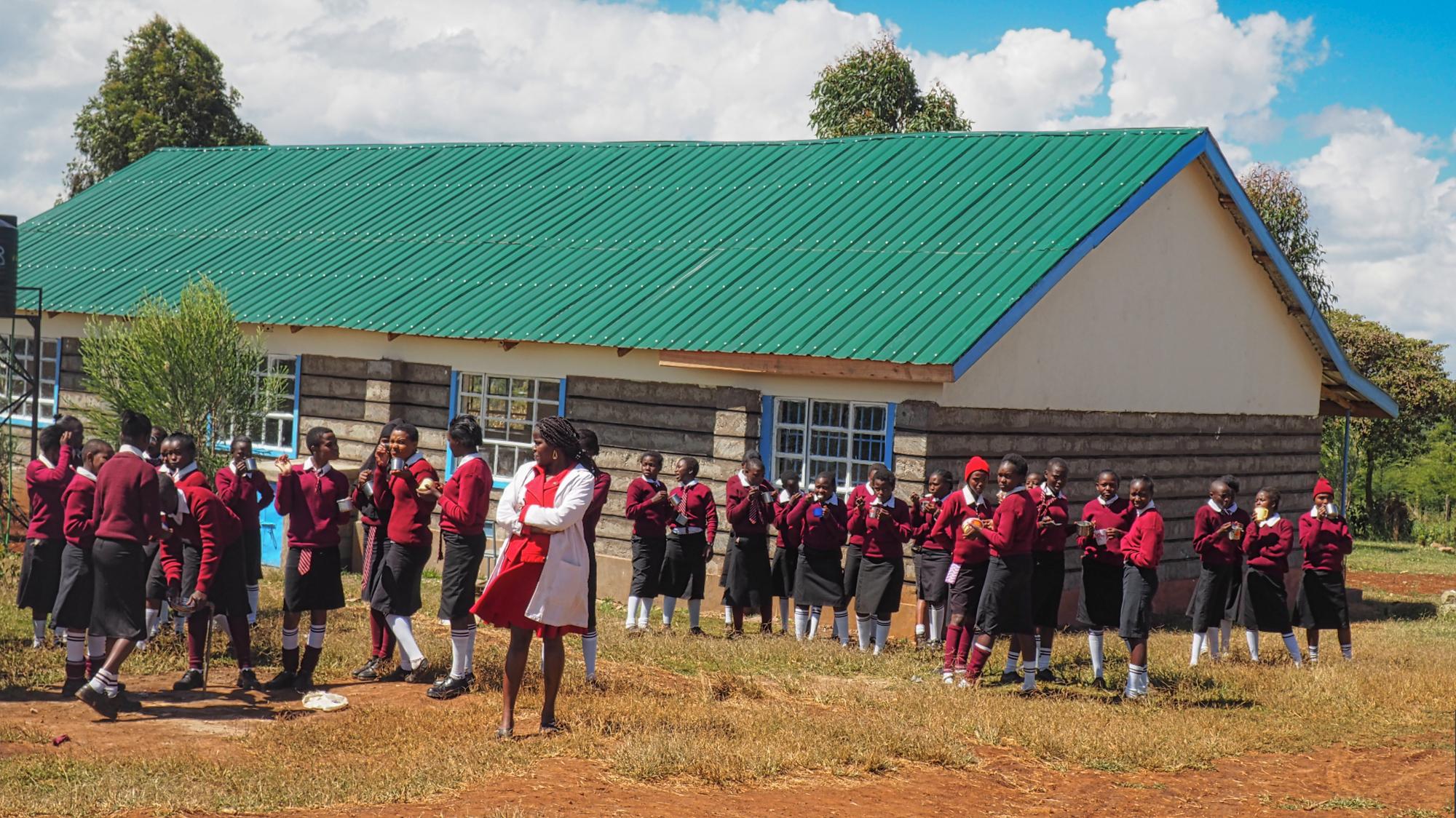 Hygieneartikel für kenianische Schülerinnen