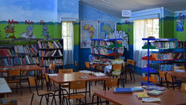 Bücherei in Timau