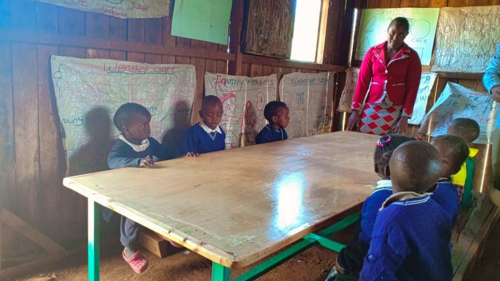 Unterrichtstische für den Kindergarten